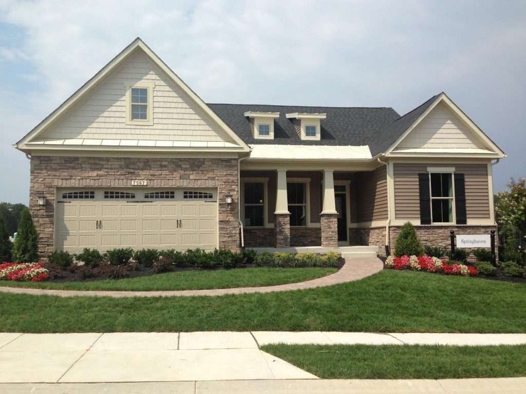 Over 55 Active Adult Community New Homes